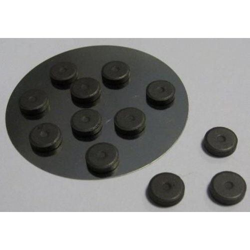 Magneten 12 stuks 12 x 2 mm