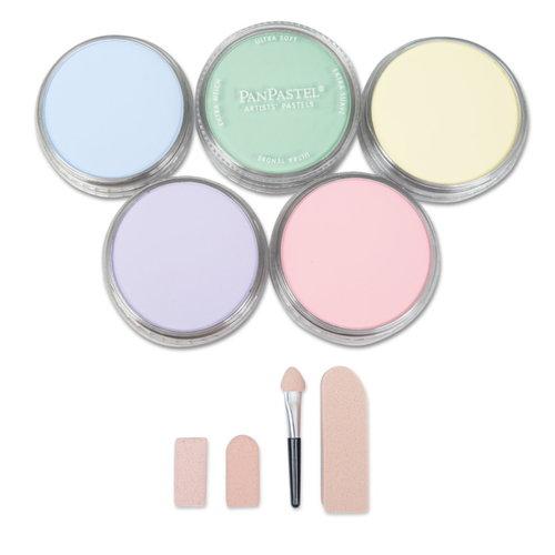 PanPastel PanPastel Kleurset Tins 5 kleuren