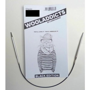 Lang Yarns Wooladdicts Black Edition Rondbreinaald