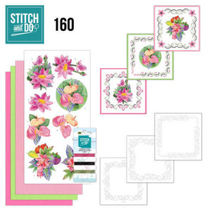 Stitch and Do  Stitch and Do 160 - Jeanine's Art - Exotic Flowers