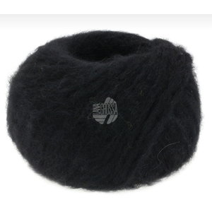 Lana Grossa Lana Grossa Alpaca Moda 50 gram nr 16 Zwart