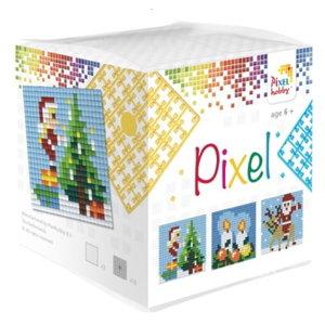 PixelHobby Pixelhobby Kubus Kerst 229001
