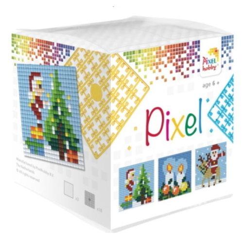 PixelHobby Pixelhobby Kubus Kerst 29001