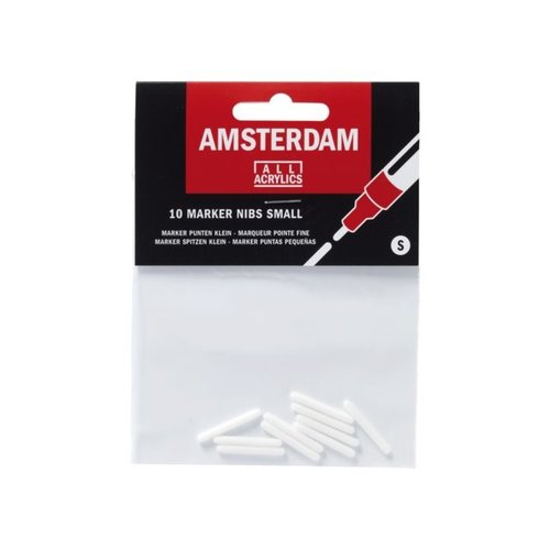 Amsterdam Amsterdam Acryl marker punten klein 2 mm rond Maat S
