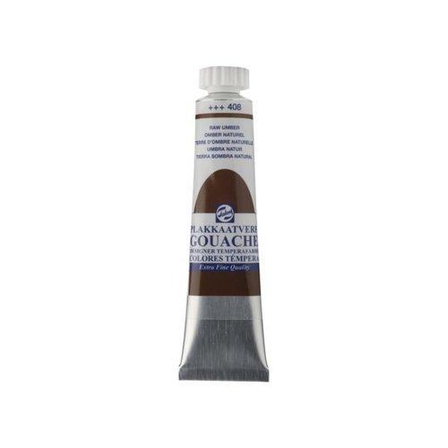 Talens  Gouache Plakkaatverf Extra Fijn 20 ml Tube Omber naturel 408