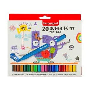 Bruynzeel Bruynzeel Kids Super Viltstiften Set 20 stuks