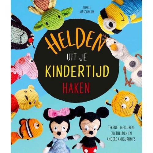 Haakboek Helden uit de kindertijd haken Sofie Kirschbaum