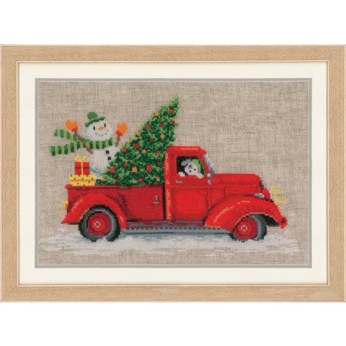 Kerst Borduren - Borduurpakket Kerst