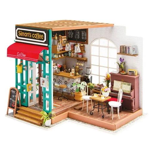 DIY Miniatuur Room Simon's Coffee