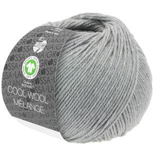 Lana Grossa Lana Grossa Cool Wool Mélange Gots 50 gram nr 122 Lichtgrijs