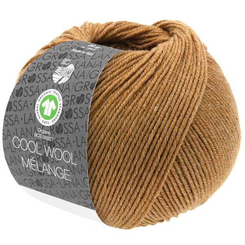 Lana Grossa Lana Grossa Cool Wool Mélange Gots 50 Gram nr 130 Karamel