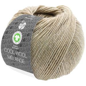 Lana Grossa Lana Grossa Cool Wool Mélange Gots 50 gram nr 129 Zand