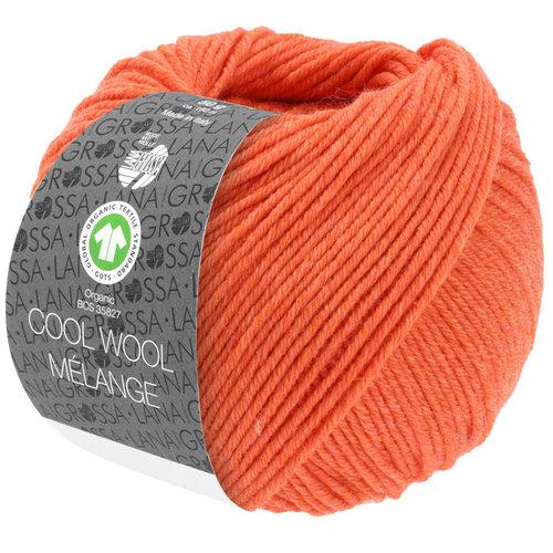 Lana Grossa Lana Grossa Cool Wool Mélange Gots 50 gram nr128 Koraal