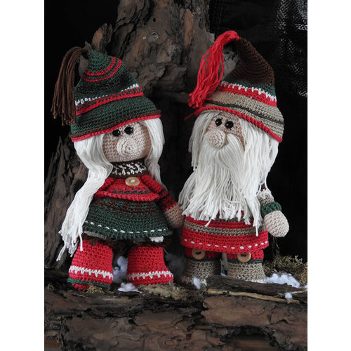 Funny's Haken Haakpakket Funny Gnoomy set Christmas