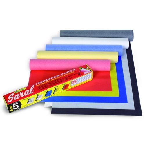 Saral Saral Grafietpapier Grijs  0,31 x 3,66 m 12 vellen