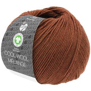 Lana Grossa Lana Grossa Cool Wool Mélange Gots Bruin 50 gram  nr 116