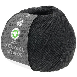 Lana Grossa Lana Grossa Cool Wool Mélange Gots Antraciet 50 gram nr 120