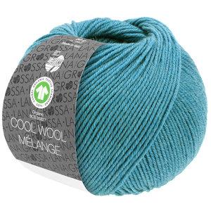 Lana Grossa Lana Grossa Cool Wool Mélange Gots Turquoise 50 gram nr 126