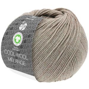 Lana Grossa Lana Grossa Cool Wool Mélange Gots Beige 50 gram  nr 123