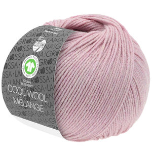 Lana Grossa Lana Grossa Cool Wool Mélange Gots Lila Roze Mel 50 gram  nr 117