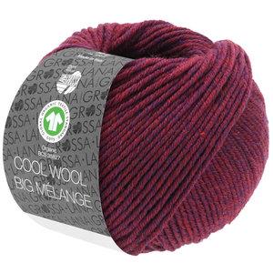 Lana Grossa Lana Grossa Cool Wool Big Mélange Gots Wijnrood nr 227