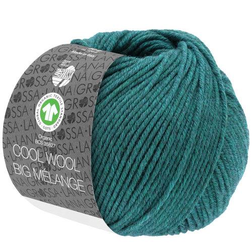 Lana Grossa Lana Grossa Cool Wool Big Mélange Gots Petrol nr 205