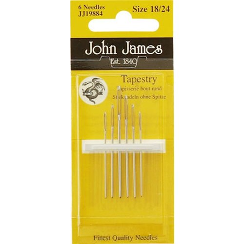 John James Borduurnaalden John James Tapestry maat 18-24 stompe punt
