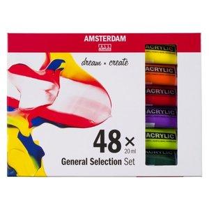 Amsterdam Amsterdam Acrylverfset 48 x 20 ml General selection