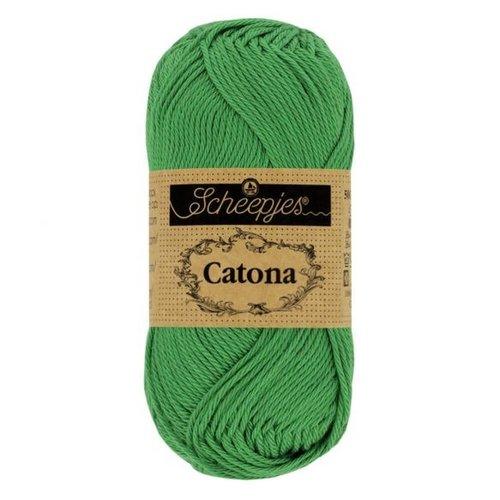 Scheepjeswol Scheepjes Catona 10 gram nr 515 Emerald