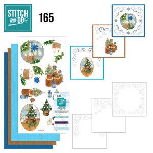 Stitch and Do  Stitch and Do 165 - Jeanine's Art - Christmas Cottage