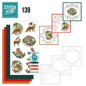 Stitch and Do  Stitch and Do 139 - Amy Design - Christmas Animals