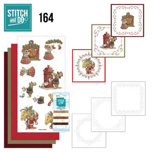Stitch and Do  Stitch and Do 164 - Yvonne Creations - Have a Mice Christmas
