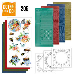 Dot and Do Dot and Do 205 -  Jeanine's Art - Humming Bees