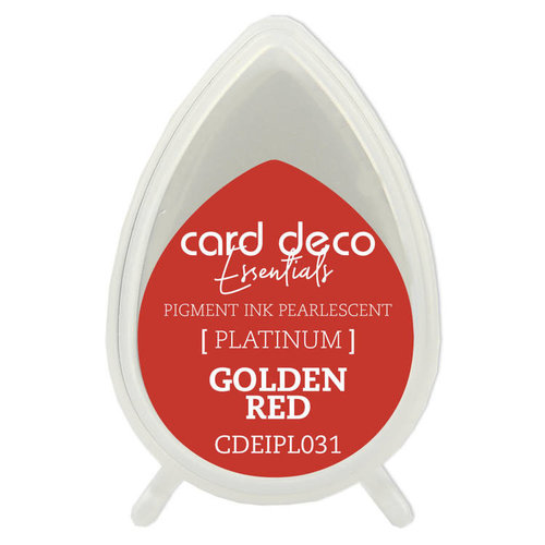 Card Deco Card Deco Essentials Fast-Drying Pigment Ink Pearlescent Golden Red