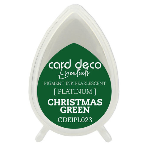 Card Deco Card Deco Essentials Fast-Drying Pigment Ink Pearlescent Christmas Green