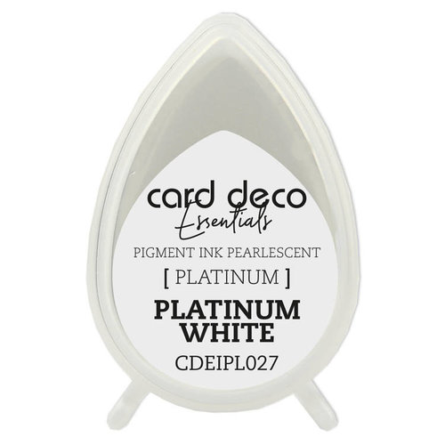 Card Deco Card Deco Essentials Fast-Drying Pigment Ink Pearlescent Platinum White