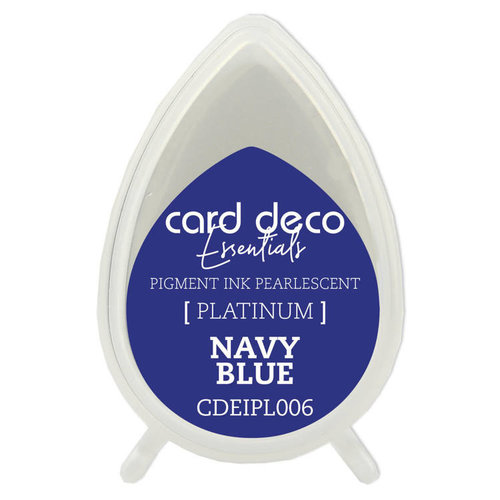 Card Deco Card Deco Essentials Fast-Drying Pigment Ink Pearlescent Navy Blue