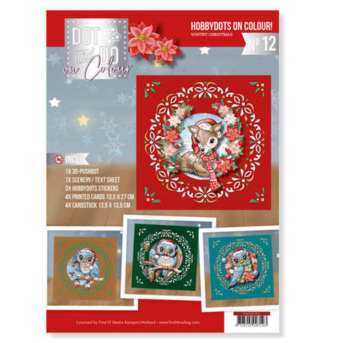 Dot and Do Dot and Do on Colour 12 - Wintry Christmas