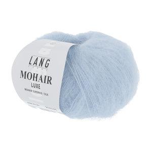Lang Yarns Lang Yarns Mohair Luxe nr 120 ijsblauw