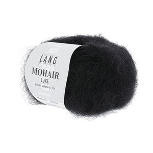 Lang Yarns Lang Yarns Mohair Luxe nr 4 Zwart