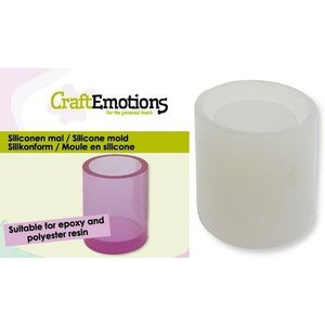 CraftEmotions CraftEmotions Siliconen mal bakje rond