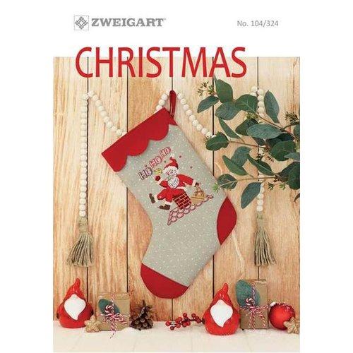 Zweigart Zweigart Borduurboekje Kerst 104-324