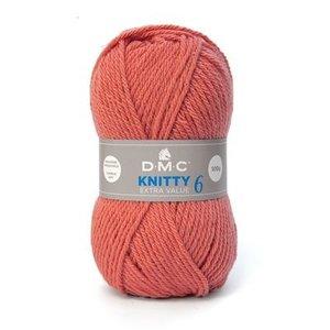 DMC DMC Knitty 6 100 gram nr 622 Warm Oranje