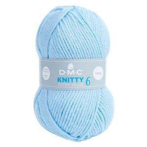 DMC DMC Knitty 6 100 gram nr 675 Lichtblauw