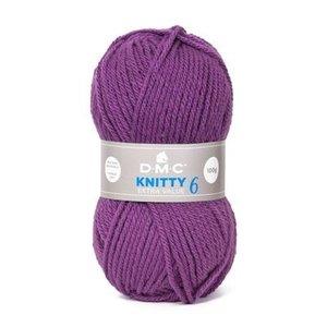 DMC DMC Knitty 6 100 gram nr 701 Paars