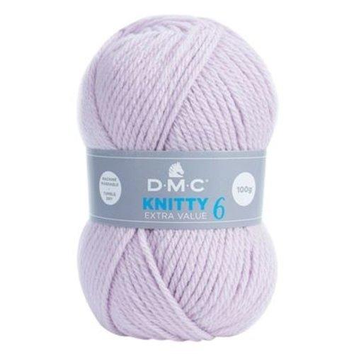 DMC DMC Knitty 6 100 gram nr 719 Zacht Lila