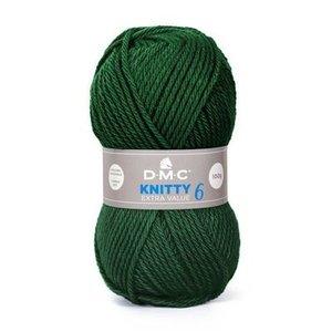 DMC DMC Knitty 6 100 gram nr 839 Donkergroen