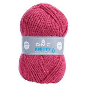 DMC DMC Knitty 6 100 gram nr 846 Roze