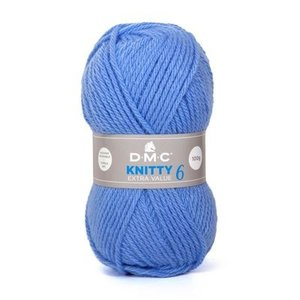 DMC DMC Knitty 6 100 gram nr 969 Blauw