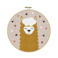 Punchpakket Alpaca Bruin 17,8 cm